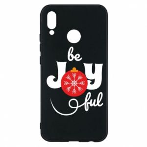 Phone case for Huawei P20 Lite Be joyful