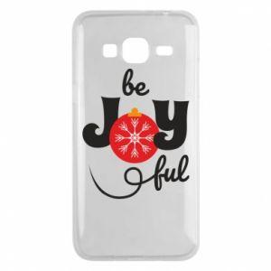 Etui na Samsung J3 2016 Be joyful