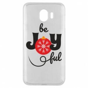 Etui na Samsung J4 Be joyful