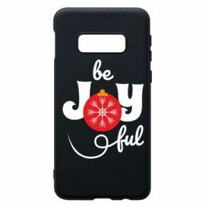 Etui na Samsung S10e Be joyful