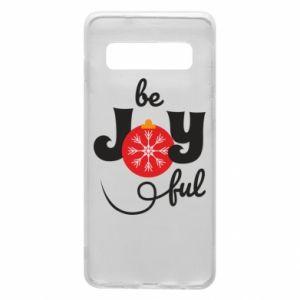 Etui na Samsung S10 Be joyful