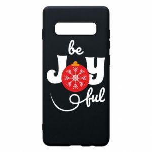 Etui na Samsung S10+ Be joyful