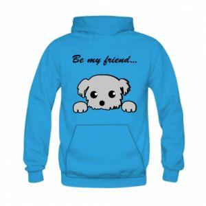 Kid's hoodie Be my friend