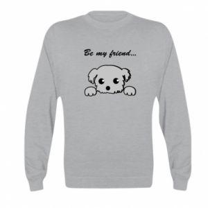 Kid's sweatshirt Be my friend
