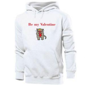 Men's hoodie Be my Valentine