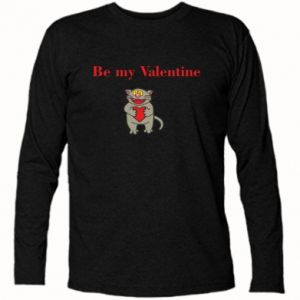 Koszulka z długim rękawem Be my Valentine