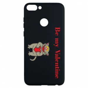 Phone case for Huawei P Smart Be my Valentine