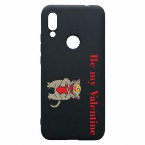 Xiaomi Redmi 7 Case Be my Valentine