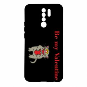Xiaomi Redmi 9 Case Be my Valentine