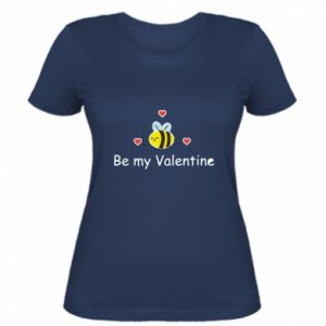 Women's t-shirt Bee and hearts