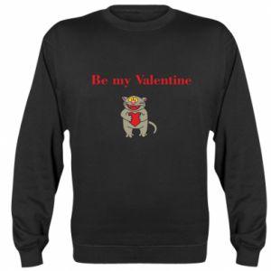 Sweatshirt Be my Valentine