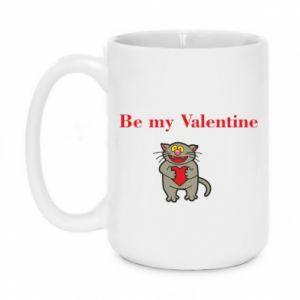 Kubek 450ml Be my Valentine