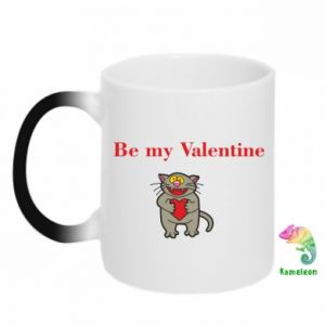 Kubek-kameleon Be my Valentine