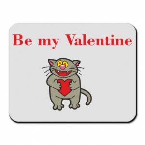 Mouse pad Be my Valentine