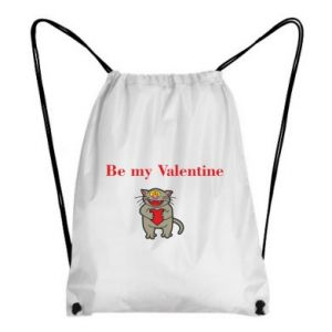 Plecak-worek Be my Valentine