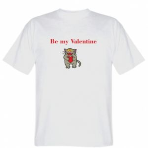 T-shirt Be my Valentine