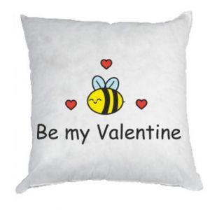 Poduszka Pszczoła i serce