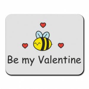 Podkładka pod mysz Pszczoła i serce