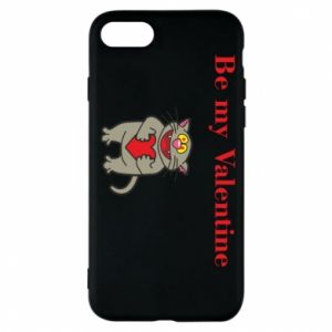 Phone case for iPhone 8 Be my Valentine
