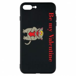 Etui na iPhone 8 Plus Be my Valentine