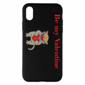 iPhone X/Xs Case Be my Valentine