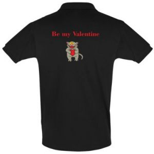 Men's Polo shirt Be my Valentine