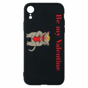 Etui na iPhone XR Be my Valentine