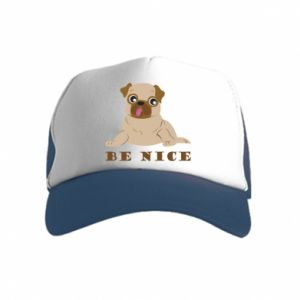 Kid's Trucker Hat Be nice