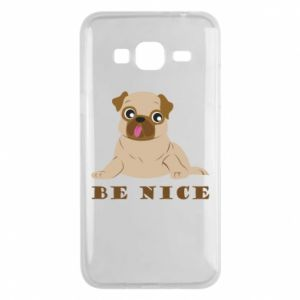 Phone case for Samsung J3 2016 Be nice