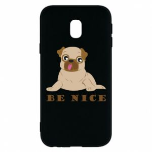 Phone case for Samsung J3 2017 Be nice