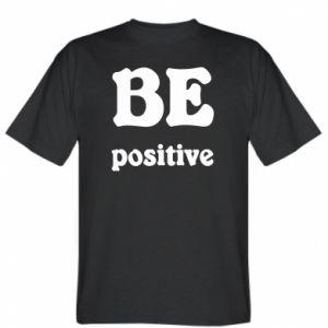 T-shirt BE positive