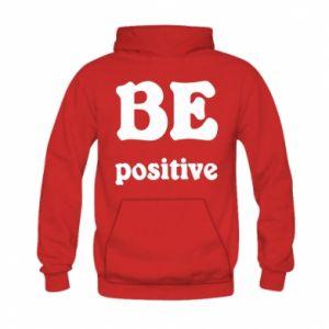 Bluza z kapturem dziecięca BE positive