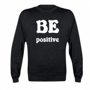 Bluza dziecięca BE positive