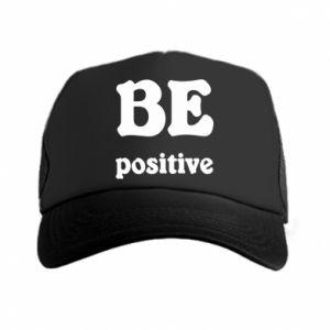 Trucker hat BE positive