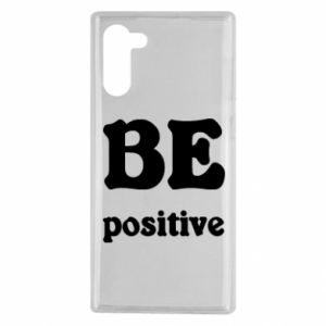 Etui na Samsung Note 10 BE positive
