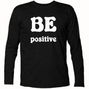 Koszulka z długim rękawem BE positive