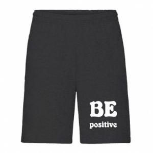 Men's shorts BE positive