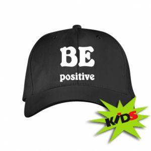 Kids' cap BE positive