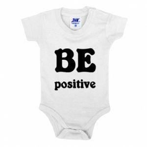 Baby bodysuit BE positive