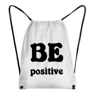Backpack-bag BE positive