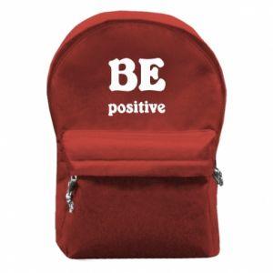 Plecak z przednią kieszenią BE positive