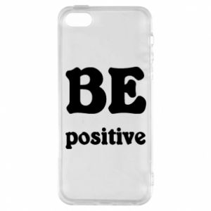 Etui na iPhone 5/5S/SE BE positive