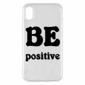 Phone case for iPhone X/Xs BE positive