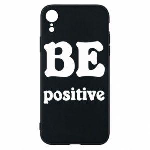 Etui na iPhone XR BE positive