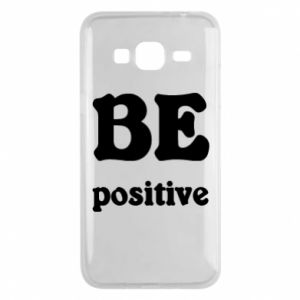 Phone case for Samsung J3 2016 BE positive