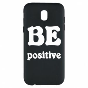 Phone case for Samsung J5 2017 BE positive