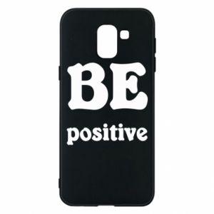 Etui na Samsung J6 BE positive
