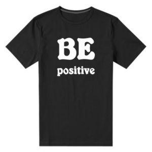 Męska premium koszulka BE positive