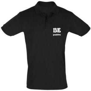 Men's Polo shirt BE positive