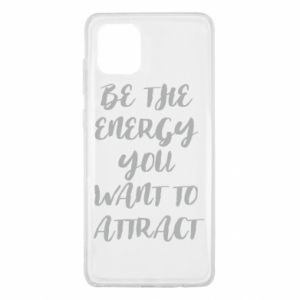 Etui na Samsung Note 10 Lite Be the energy you want to attract